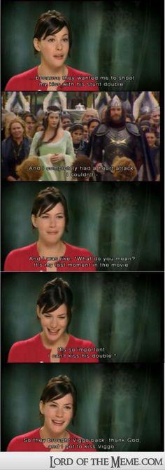 Hahaha! I love Liv!