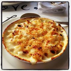 Mac n cheese from Shrimpys