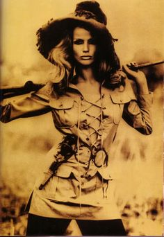 "Yves St Laurent 1968 ""Safari"""