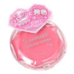 Canmake cream blush