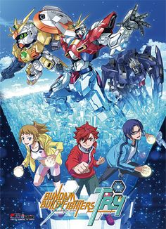 Gundam Build Fightes Try Fabric Poster - Key Art @Archonia_US