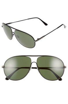 Tom Ford  Cliff  61mm Aviator Sunglasses Lunettes De Soleil Tom Ford,  Lunettes De 718afeca8fae