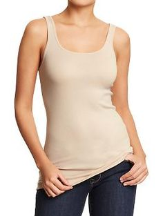 "Women's Jersey Tamis | Old Navy.""Tami"" and regular tank tops are always welcome! I wear them under most shirts - any color"