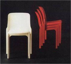 vico magistretti - the selene chair (1966)