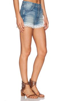 Wildfox Couture Shabby Lace Short in Hand Me Down | REVOLVE