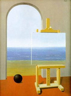 Rene Magritte: The Human Condition, 1935
