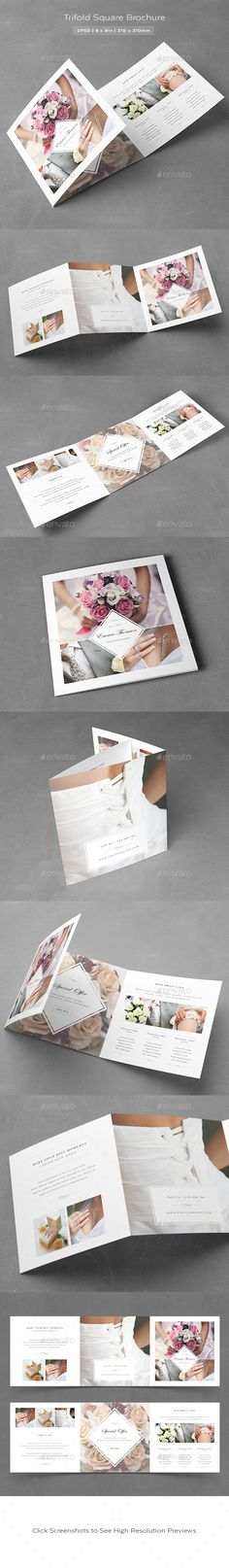 Photography Square Trifold Brochure - Informational Brochures