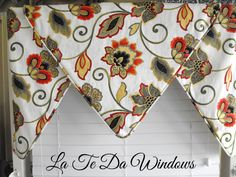 window treatment valance by LaTeDaWindows on Etsy, $109.00