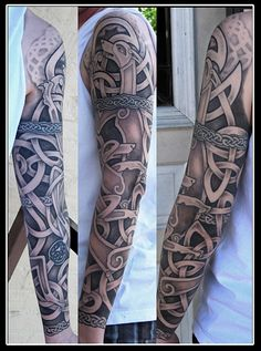 Irish-Sleeve-Tattoos-1.jpg (468×630)