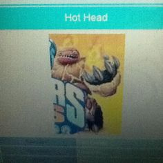 """I don't know what """"hot head"""" says yet"""