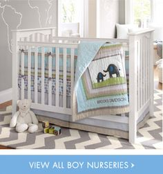Pottery Barn little boy nursery