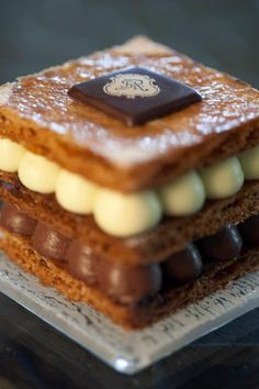 Mille Feuille- testing these for the bakery this week
