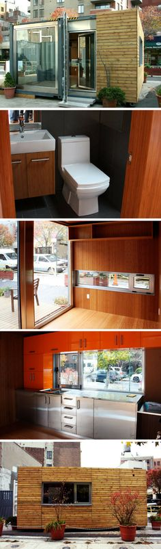MEKA POP UP SHIPPING CONTAINER HOME