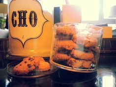 My own homemade chocolate chip cookies