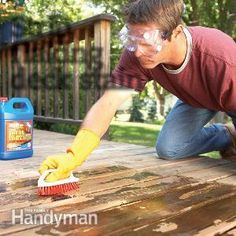How to Remove Flaking Deck Stain | The Family Handyman