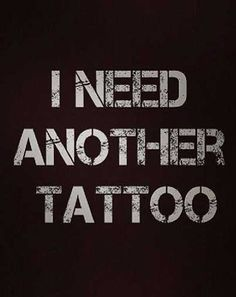 I Need Another Tattoo | Rebel Circus