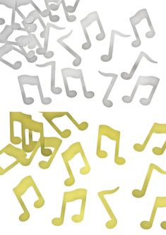 Music note confetti available in packs. Wedding Confetti, Music Notes, South Africa, Shop, Store, Music Sheets
