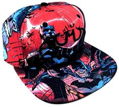 Batman Sublimated All Over Print Snapback @ niftywarehouse.com #NiftyWarehouse #Batman #DC #Comics #ComicBooks