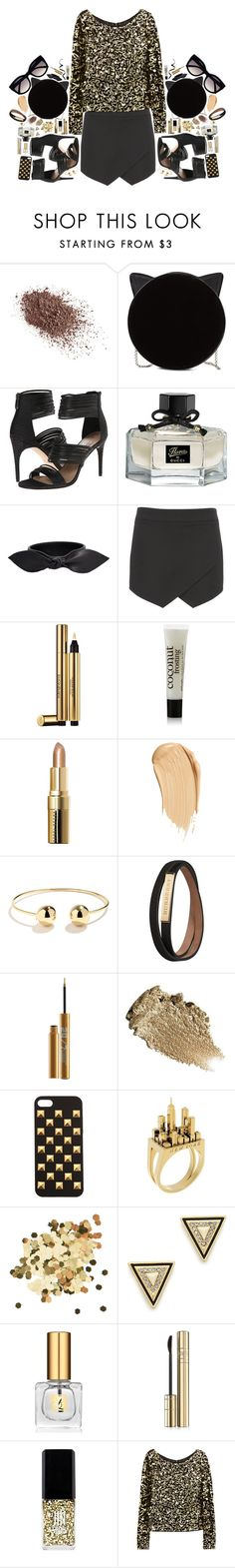 """Sin título #367"" by lilymania92 ❤ liked on Polyvore featuring mode, Napoleon Perdis, Charlotte Olympia, BCBGMAXAZRIA, Gucci, Yves Saint Laurent, maurices, philosophy, Bobbi Brown Cosmetics et H&M"