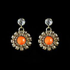 """Anton Heunis """"Brigitte Bardot"""" Crystal Cluster Earrings (BB3 18)   Alexandra May"""