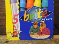 NOS vintage 2000 5 Pack unopened Original BLO PENS Blow Markers Color Workshop #BloPens