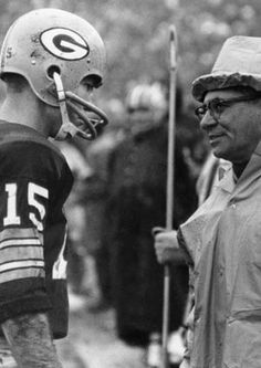 Vince Lombardi and Bart Starr..... Two men that changed the game of football.