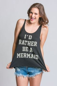 I'd Rather be a Mermaid Tee | Stella Rae's