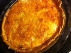 Meat Lover's Quiche for gatherings not everyday cause it is not a healthy dish~c
