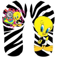 Estampa para chinelo Corinthians 000340 Animal Flip Flops, A Funny, Beagle, Tweety, Ems, Samurai, Jackson, Logos, Animals