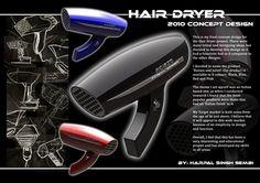 hair dryer design project - Google 搜尋