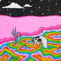 Indie Drawings, Trippy Drawings, Psychedelic Drawings, Hippie Painting, Trippy Painting, Painting & Drawing, Et Wallpaper, Hippie Wallpaper, Arte Sharpie