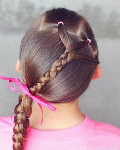 31 Fabulous Little Girls' Party Hairdo Style Style Baby Girl Hairstyles, Princess Hairstyles, Winter Hairstyles, Hairstyles For School, Pretty Hairstyles, Braided Hairstyles, Hairdos, Toddler Hairstyles, Simple Hairstyles