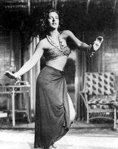 Hedy Lamarr in White Cargo
