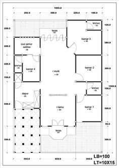 Roof Styles, House Styles, Kitchen Room Design, Hidden Rooms, House Sketch, Roof Plan, Dream House Plans, Home Design Plans, House Layouts