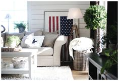 stars&stripes,amerikanska flaggan,tripod,liggande panel,new england,rotting,artwood