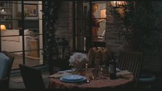 Adorable patio from the house in It's Complicated.