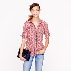 Liberty Boy Shirt in Betsy Ann Floral by J.Crew