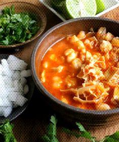 Menudo, or Pancita Menudo Recipe Authentic, Cheeseburger Chowder, Mexican Food Recipes, Brunch, Soup, Sunday, Kitchen, Website, Domingo