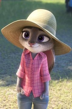 Judy Hopps << she just looks too cute in that outfit.. wait, cute is a bad word? Haha