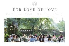 We are from for love of love who specializes in serving the highest level of wildly romance.