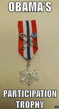 The coveted Snowflake award  ...