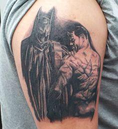Nice Batman Tattoo