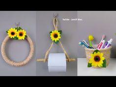 Juego De Baño Con Soga de Cabuya | Manualidades Fáciles | Diy Porta cepillos de dientes #artesanato - YouTube Sisal Rope, Bathroom Sets, Diy, Handicraft, Projects To Try, Make It Yourself, Crafts, Decoration, Instagram