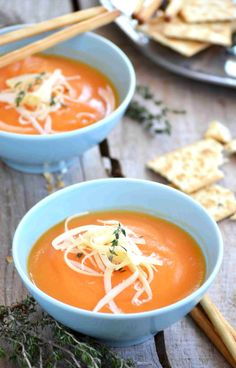 Recipe for Cream of Carrot Soup