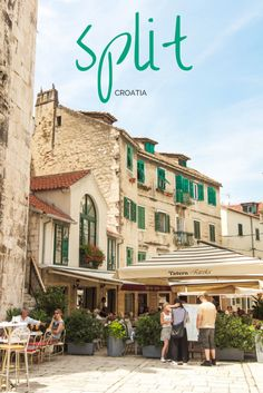 A Guide to Savoring Split, Croatia (Adelante) Dubrovnik, Oh The Places You'll Go, Cool Places To Visit, Places To Travel, Travel Destinations, Holiday Destinations, Hotels In Split, Hotels Split Croatia, Budapest
