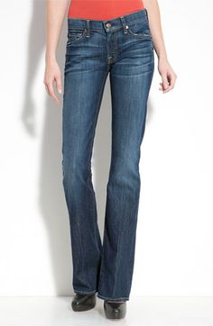 7 For All Mankind Bootcut Jeans (Nouveau New York Wash)