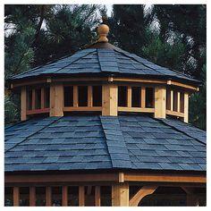 Handy Home San Marino Two-Tier Roof for 12' W Gazebo & Reviews | Wayfair