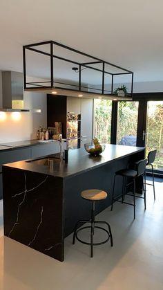 """INTERIOR PORN on Twitter: """"This kitchen is goals… """" Rustic Kitchen Design, Kitchen Room Design, Home Room Design, Dream Home Design, Home Decor Kitchen, Interior Design Kitchen, Home Kitchens, House Design, Kitchen Ideas"""