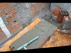 REBOCO COM RODO PARADES EM BLOCOS' PLASTER WITH SQUEEGEE WALLS IN BLOCKS '