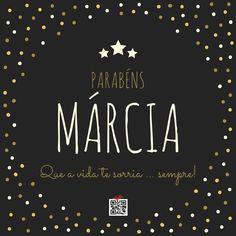 Parabéns Márcia